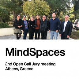 MindSpaces 2nd Open Call for artists / Jury meeting