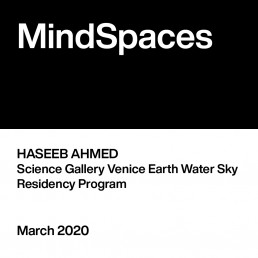 Haseeb Ahmed / Science Gallery Venice Earth Water Sky residency programme